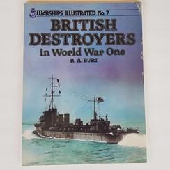 British Destroyers in WO I. R.A. Burt