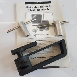 Gebo GEBO deck hatch spare parts