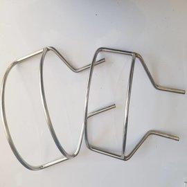 RC-Inox Deck support Inox 2 parts