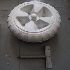 """Lasco  Dock wheel with straight mount diam. 24"""" (60 cm)"""