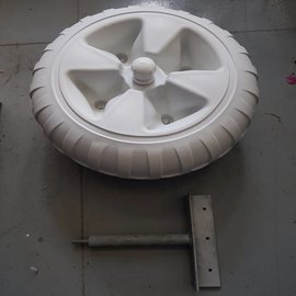 "Lasco Lasco  Dock wheel with straight mount diam. 24"" (60 cm)"