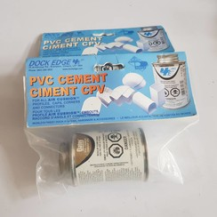 Dock Edge  PVC cement 1051-F