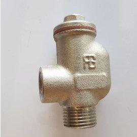 """HB Non return valve 1/2"""" Inox 90°"""