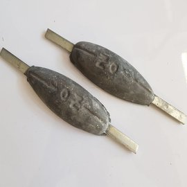 RC-Z Aluminium hull anode 120 x 210mm.