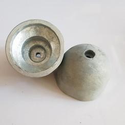 Hélice de proa utilidad de zinc ánode