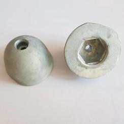 SM101180 Side-Power Boegschroef moer zink anode