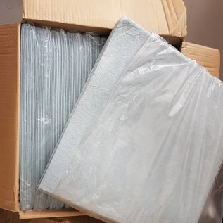 Almohadillas absorbentes para aceite y diesel 40 x 40cm (Paquete de 10)