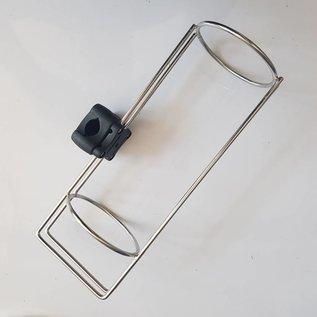 Plastimo Fender holder Inox single fender  with railing bracket 20-25mm