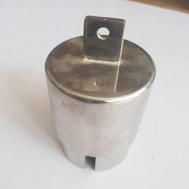 RC-Inox Inox polished end plug