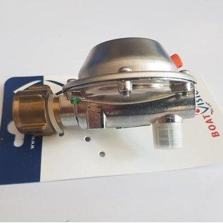 GOK Marine Gas regulator Inox  Mg=1,5  pd=50MB  Butan-Propan PS 16 bar  GOK