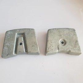 Zinc anode sterndrive