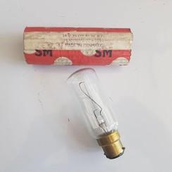 SM Navigatie lamp 24V  35 CD -55W B22. 32 x 110mm