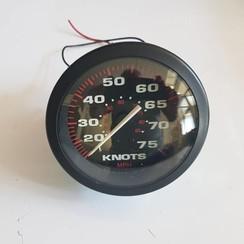 Medidor de velocidad Knots-MPH