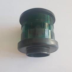 Navigatie lamp huis housing (groen) Black DHR35 360 °