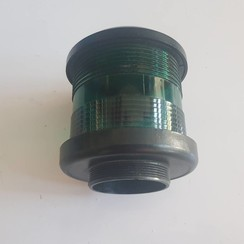 Navigation light housing (green) Black DHR35 360 °