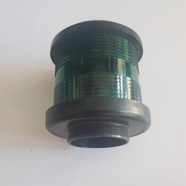 DHR Navigation light housing (green) Black DHR35 360 °