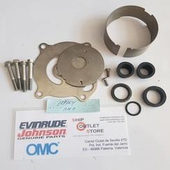 0389164 OMC Kit de bomba de agua - Carcasa de tubo doble
