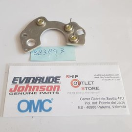 OMC Evinrude Johnson 383897 OMC Rectifier plate assembly
