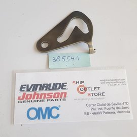 OMC Evinrude Johnson 385541 OMC Plate