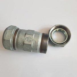 """EO EO 1 1/4"""" DIN compression nipple PE hose"""