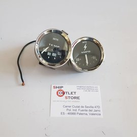 Smiths Smiths Temperature & Ampere gauges  2 pieces