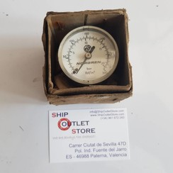 """Norgren Manometer 0 - 20 Bar.  1/8"""" tail connection"""