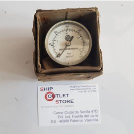 "Norgren Norgren Manometer 0 - 20 Bar.  1/8"" tail connection"