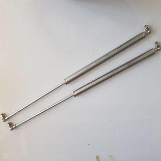 Springmasters Inox 316 Gas pressure spring M8 x 250mm x 300N