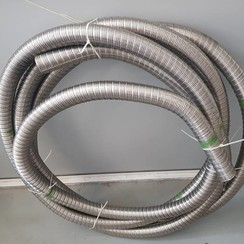 Flexible exhaust hose Inox 50mm