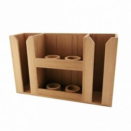 ARC Marine ARC Marine Teak Bar rack 4 glasses and 2 bottles