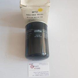 MTU MTU S2000 002-092-1901 Filtro de combustible