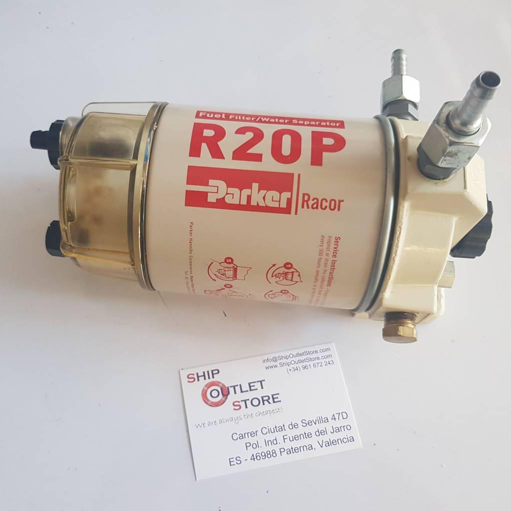 Racor Parker Spin On 230r30 Fuel Filter Separator Sos Ship Outlet Pump