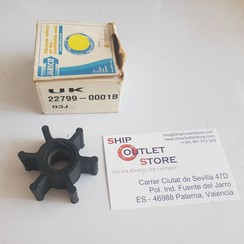 22799-0001B Jabsco Impeller neoprene