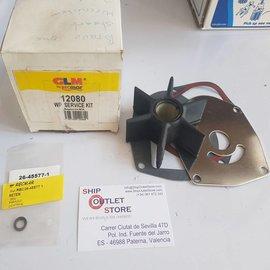 GLM 12080 GLM Kit de servicio de bomba de agua para Mercruiser