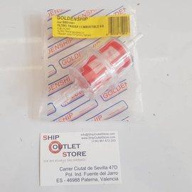 Baldwin Baldwin Filter BF7863 Filtro de combustible en línea de 6-8  In-line fuel filter 6-8
