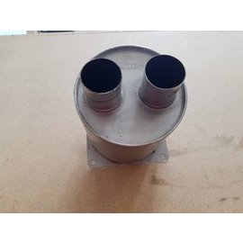 Vetus Vetus exhaust muffler silencer Inox with 50 mm connection