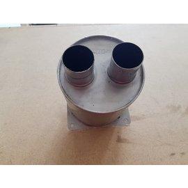 Vetus Vetus silenciador de escape de Inox con coneccion 50 mm