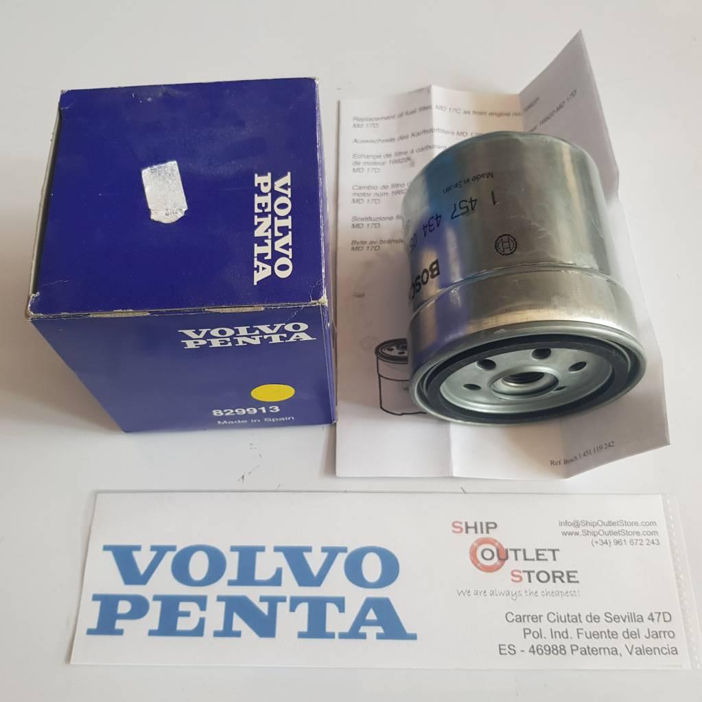 Volvo Penta 829913 Volvo Penta Fuel Filter
