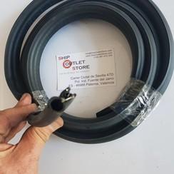 P-Profile goma espuma con tira de acero 3 piezas en total 3 metros