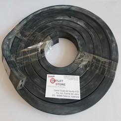 Rubber foam profiel vierkant 20 x 30mm L=380 cm