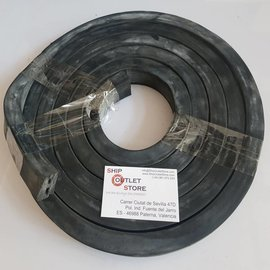 RubFlex Square  foam rubber profile 20 x 30mm L=380 cm