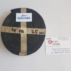 Opacmare correa de transmisión de 25 mm x 4 meter