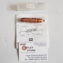 HSS HSS Oxygen gasnorzel 10/10A 5-25mm