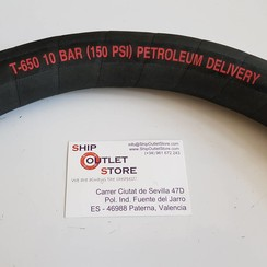 Alfagomma T650 Manguera de descarga de aceite 30 mm 10 Bar