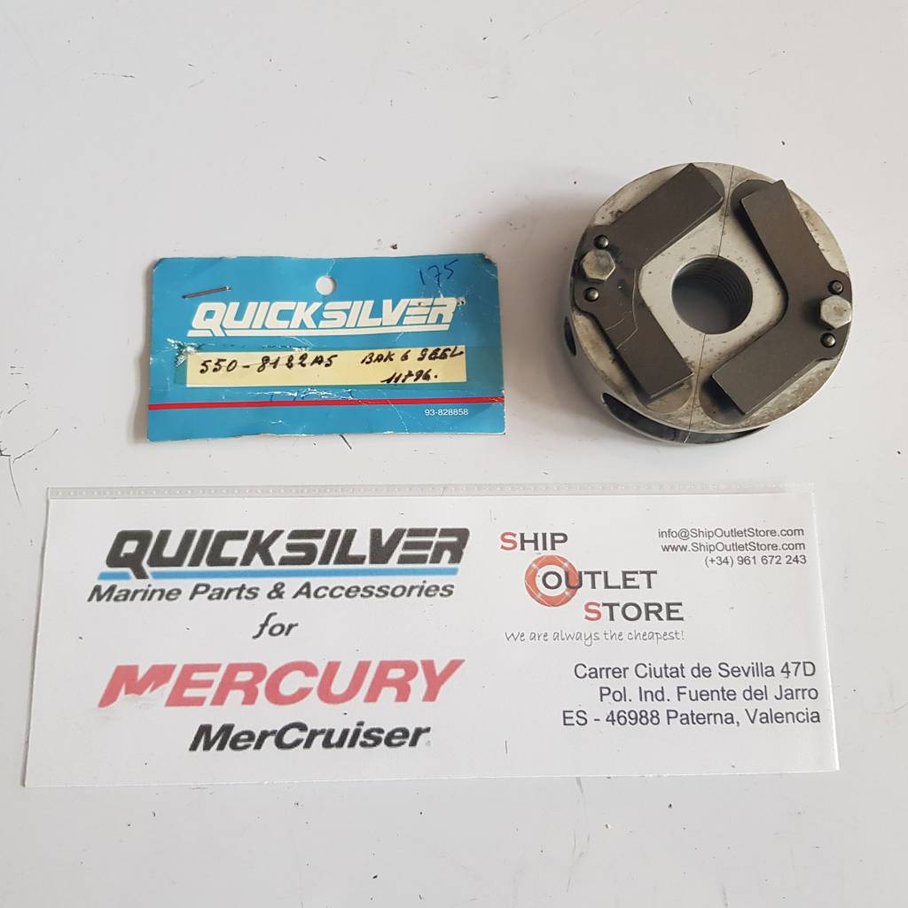 550-8122 A5 Mercury Quicksilver Main bearing Reed Block Type 3