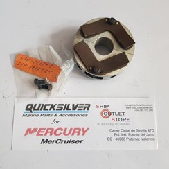 534-3267 T25 Mercury Quicksilver Main bearing Reed block