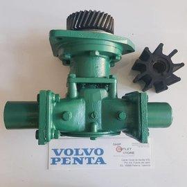 Volvo Penta 822787 Volvo Penta Bomba de agua de mar con engranaje