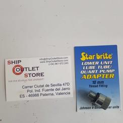 Star Brite Lage adaptor smeerolie pomp 10mm