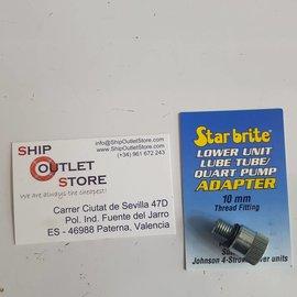 Star brite Star Brite Lage adaptor smeerolie pomp 10mm