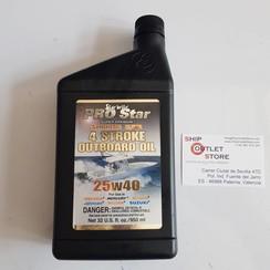 Star brite 4 Tiempos aceite sintética blend 25W40 950ml